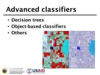 Advanced classifiers
