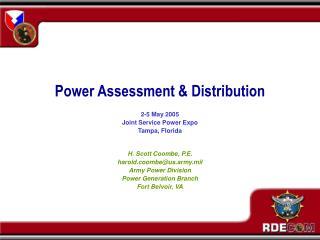 Power Assessment  Distribution