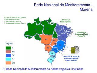 Rede Nacional de Monitoramento - Morena