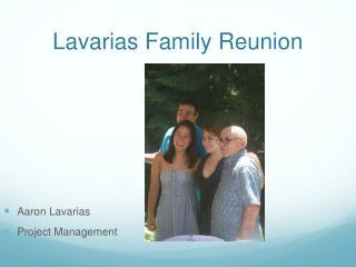 Lavarias Family Reunion