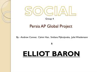 Persia AP Global Project