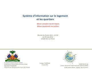 Système d'information sur le logement  et les quartiers