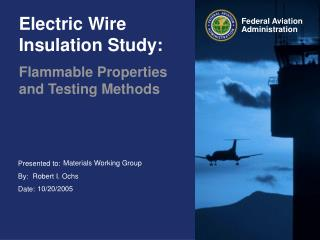 Electric Wire Insulation Study: