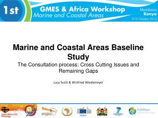 Marine and Coastal Areas Baseline Study