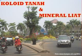 KOLOID TANAH & MINERAL LIAT