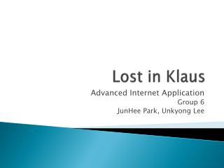 Lost in Klaus