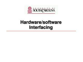 Interrupt handling and using internal timer