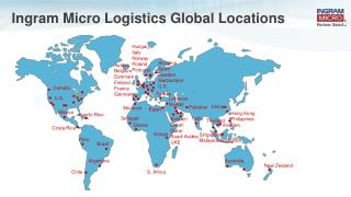 Ingram Micro Logistics Global Locations
