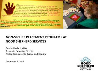 Denise Hinds,  LMSW Associate Executive Director Foster Care, Juvenile Justice and Housing