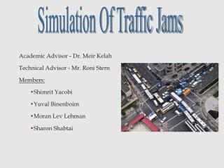 Simulation Of Traffic Jams