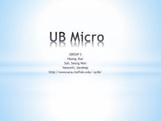 UB Micro