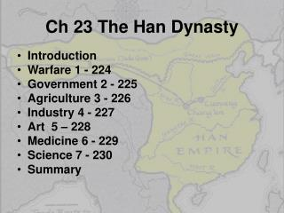 Ch  23 The Han Dynasty