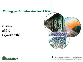Tuning an Accelerator for 1 MW