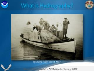 What is Hydrography?