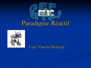 Paradigme Réactif