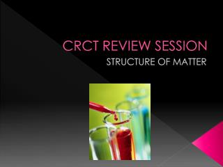 CRCT REVIEW SESSION