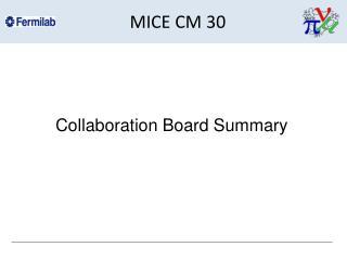 MICE CM 30