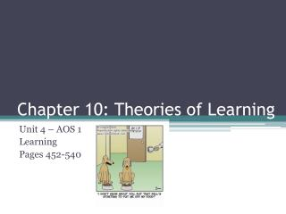 Chapter 10: Theories of Learning