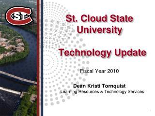 St. Cloud State University Technology Update