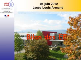 01 juin 2012 Lycée Louis Armand