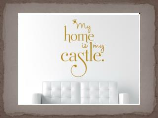 Castle =  castellum  ( L atin)