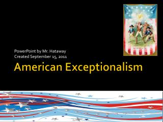 American  Exceptionalism