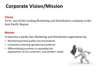 Corporate Vision/Mission