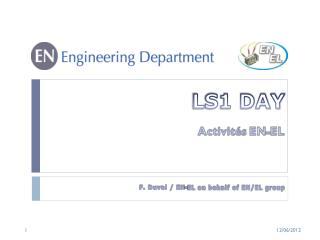 LS1 DAY
