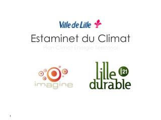Estaminet du Climat  Plan Climat �nergie Territorial