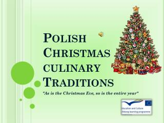 Polish Christmas culinary Traditions