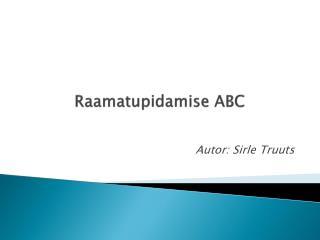 Raamatupidamise ABC
