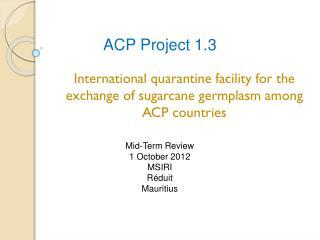 ACP Project 1.3