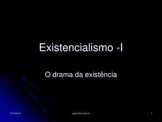 Existencialismo -I