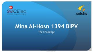 Mina  Al-Hosn  1394 BIPV