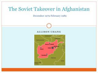 The Soviet Takeover in Afghanistan