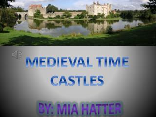 MEDIEVAL TIME CASTLES
