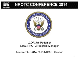 NROTC CONFERENCE 2014