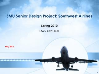 SMU Senior Design Project: Southwest Airlines