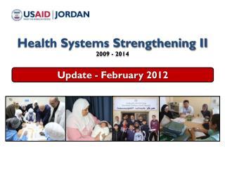 Update - February 2012