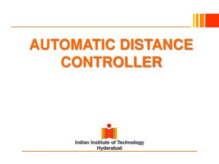 AUTOMATIC DISTANCE CONTROLLER
