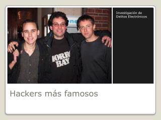 Hackers m�s famosos