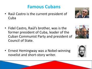 Famous Cubans