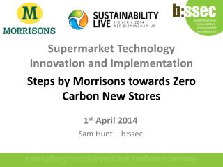 Supermarket  Technology Innovation  and  Implementation