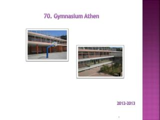 70 .  Gymnasium  Athen