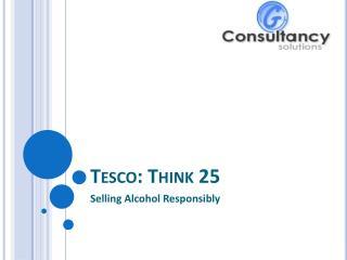 Tesco: Think 25
