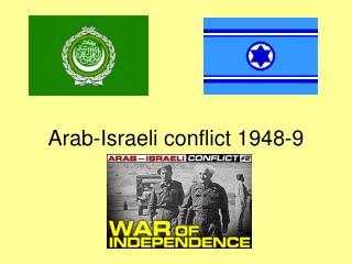 Arab-Israeli conflict 1948-9