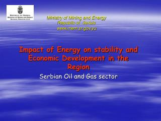 Ministry of Mining and Energy Republic of  Serbia mem.sr.yu