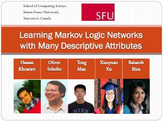 Learning Markov Logic Networks  with Many Descriptive Attributes