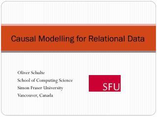 Causal  Modelling  for Relational Data