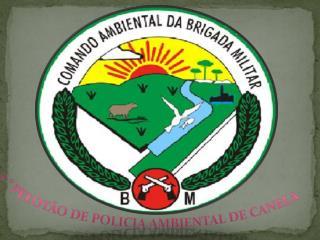 2 ° Pelotão de Policia Ambiental de Canela
